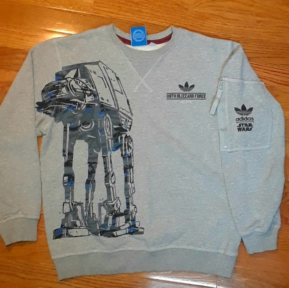 super popular 4e2fb bbc53 adidas Other - Adidas Originals X Star Wars Crew Neck sz Sm